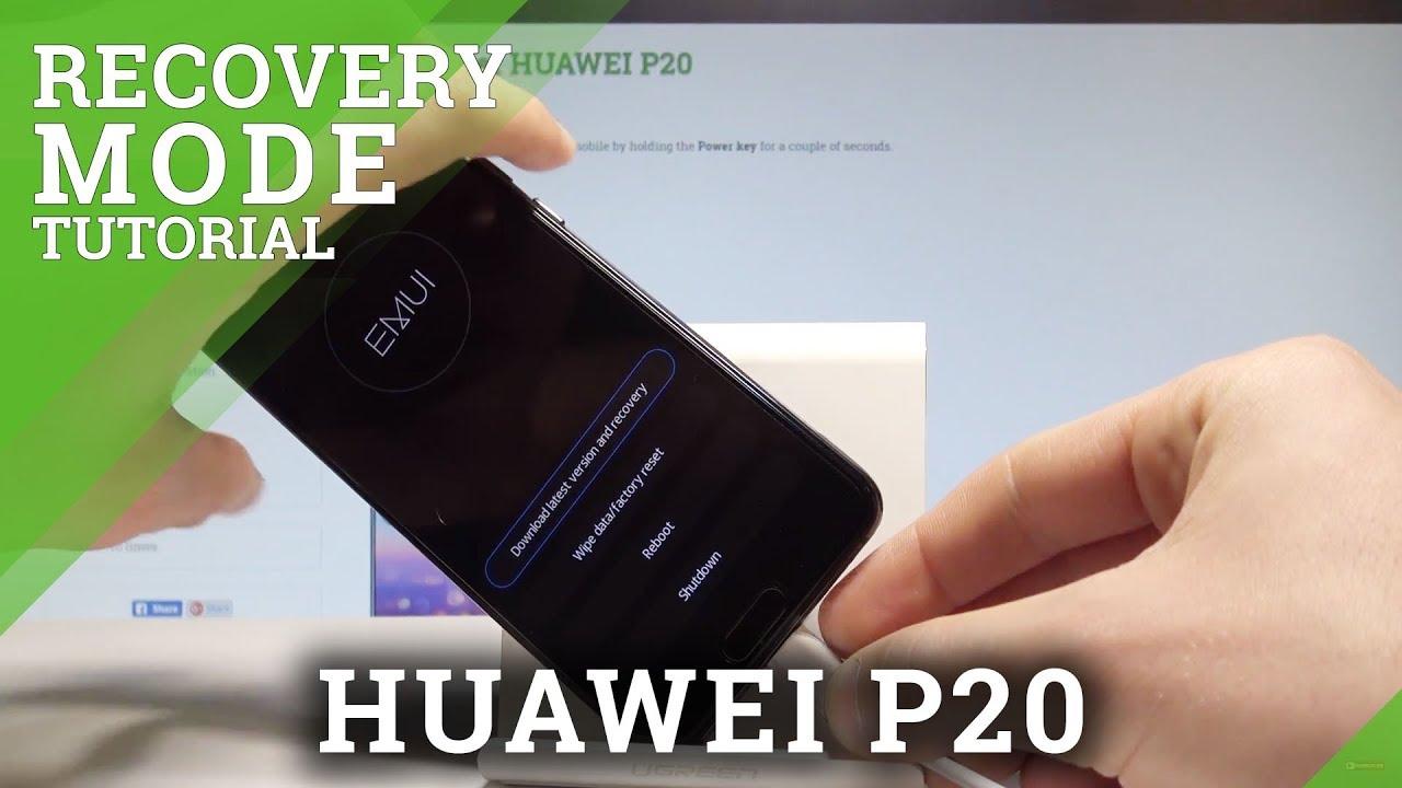 Huawei P20 Retail Demo löschen (entfernen) - Huawei P20