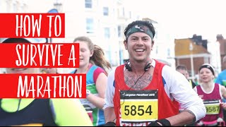 Running a Marathon without Training, for beginners