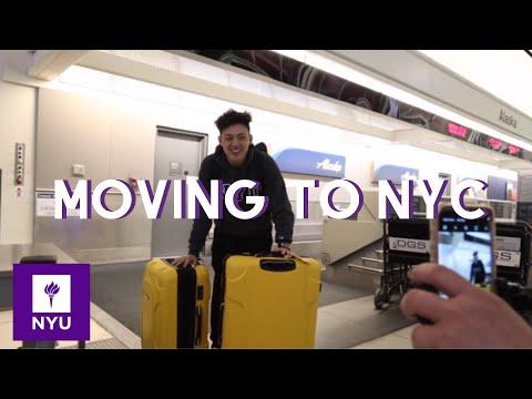 Moving Into College|NYU