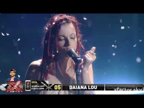 Daiana Lou - Running with the wolves | Live Show 2 | Xf10
