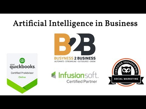 Busyness 2 Business Consulting - Helping Small Businesses with Artificial Intelligence