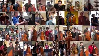 "2020 Richard Davis Foundation for Young Bassists Virtual Bass Orchestra - ""Azure"" by Duke Ellington"