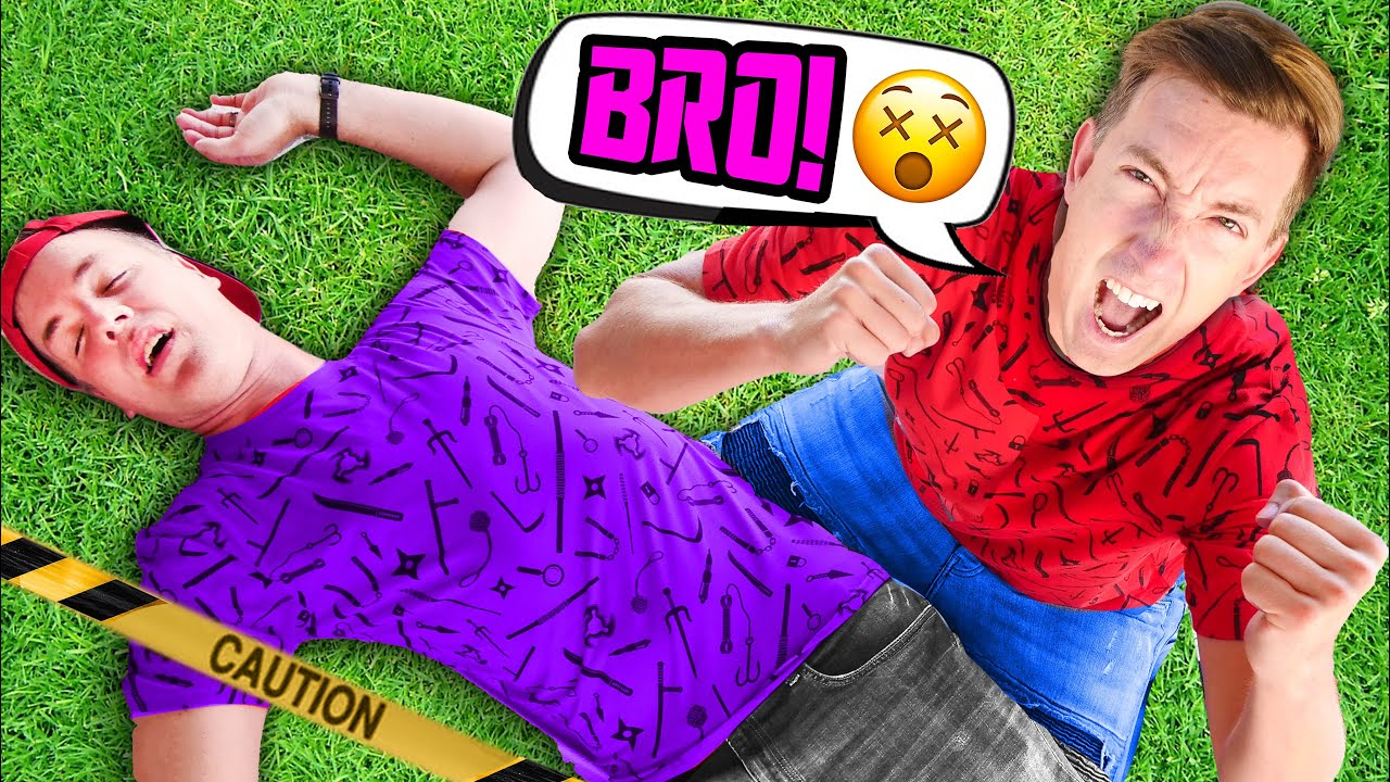 My Brother Casey Got Caught in 4k by Hacker Battle in Real Life Mission to Disable Roblox Forcefield