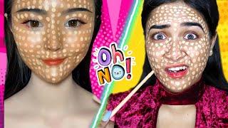Testing Out *Viral* KOREAN Makeup Hacks | *Shocking Results* | Nil 7 Situ Vlogs