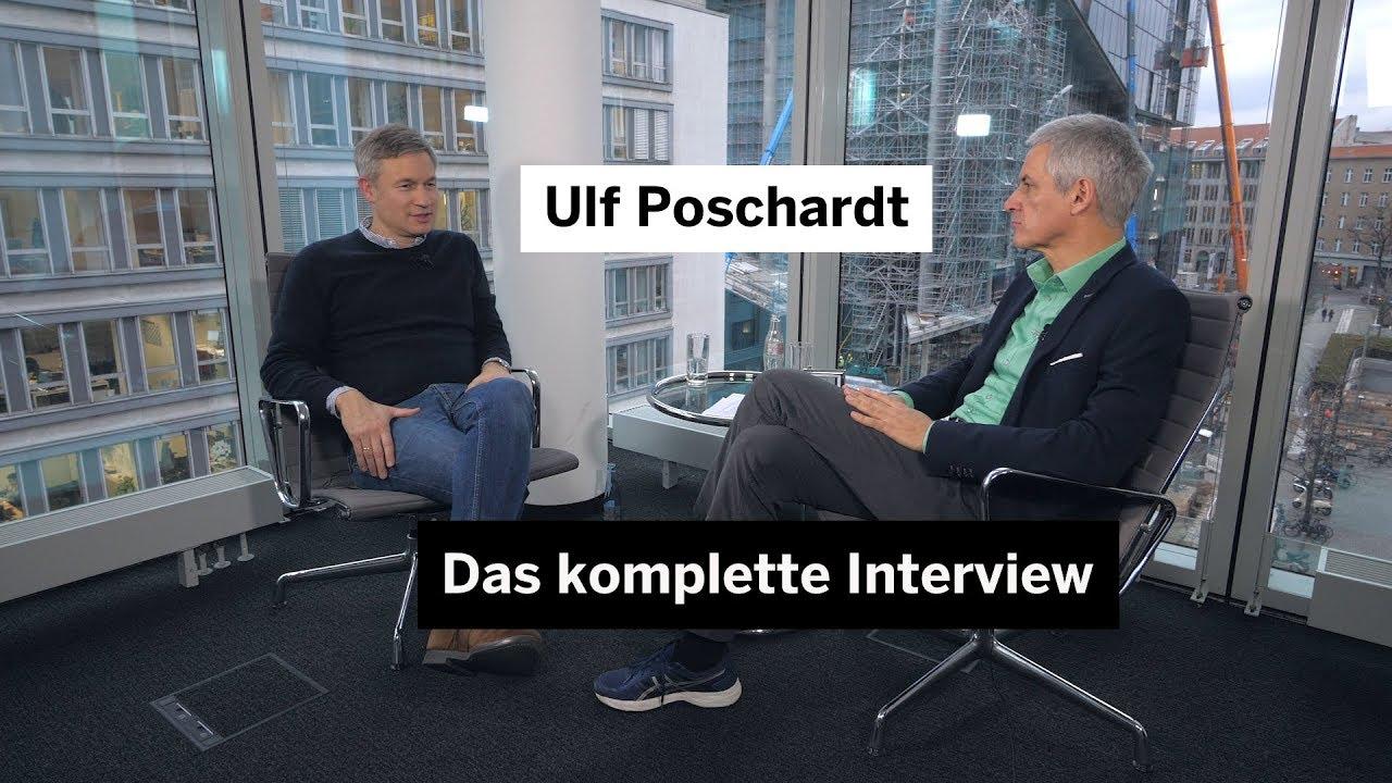 """""""Welt""""-Chef Ulf Poschardt über Journalismus, Relotius und Social Media – das komplette Interview"""