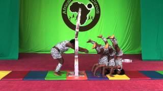 vuclip African Dream Circus No.6 - Hoop Diving, Pyramid Acrobat