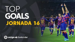 Download Todos los goles de la Jornada 16 de LaLiga Santander 2019/2020 Mp3 and Videos