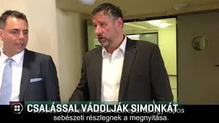 Vádat emelt az ügyészség Simonka György és társai ellen 19-08-21