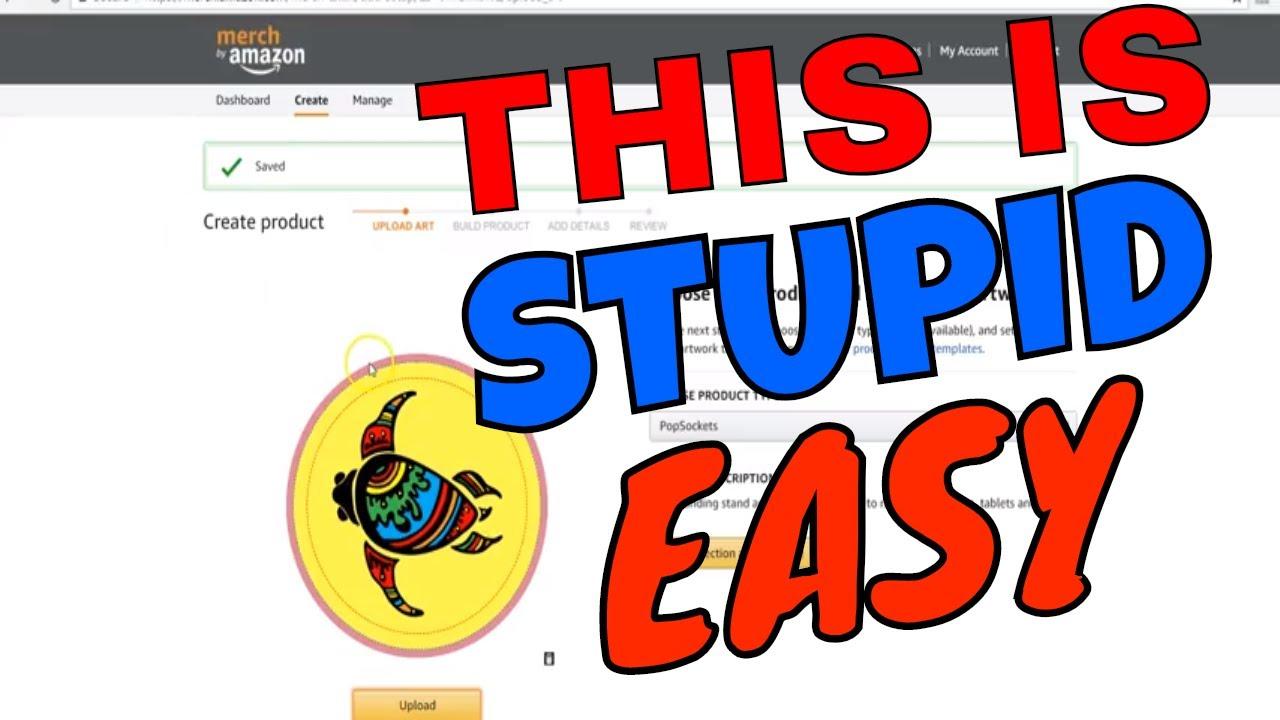 How To Design Pop Sockets For Amazon Merch Super Easy Beginner