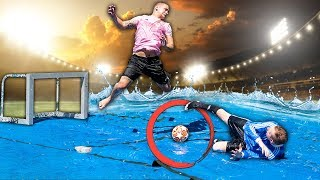 SLIP AND SLIDE FOOTBALL CHALLENGE