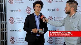 ESIM - Nathan Ducharme - Soirée des Lauréats montréalais
