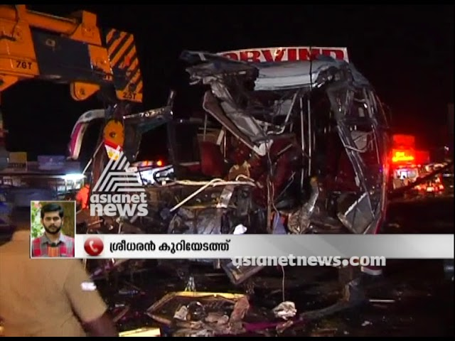Salem bus accident : Seven killed including 2 women in bus accident