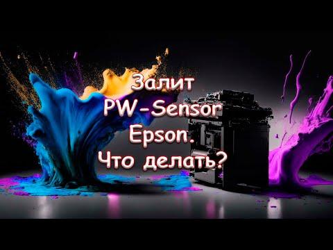 Залит PW-Sensor Epson. Что делать?