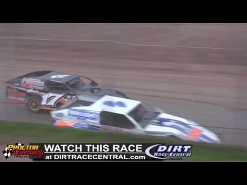 Proctor Speedway 5/15/16 WISSOTA Modified Highlights