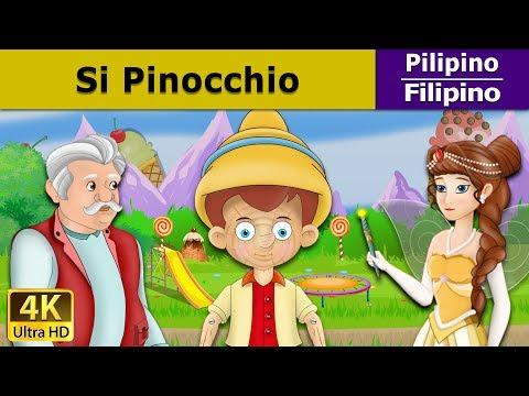 Si Pinocchio - kwentong pambata - mga kwentong pambata tagalog - 4K UHD - Filipino Fairy Tales
