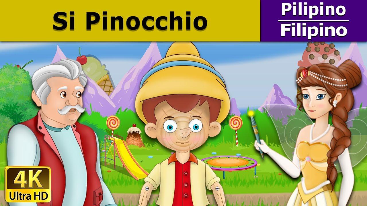 Download Si Pinocchio | Kwentong Pambata | Mga Kwentong Pambata | Filipino Fairy Tales