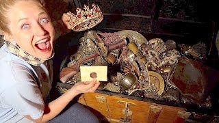 Download WE FOUND ANOTHER REAL TREASURE CHEST! EVEN MORE EPIC TREASURE HUNT! Mp3 and Videos