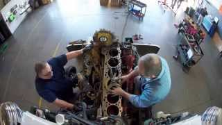 CAT Engine Teardown TimeLapse