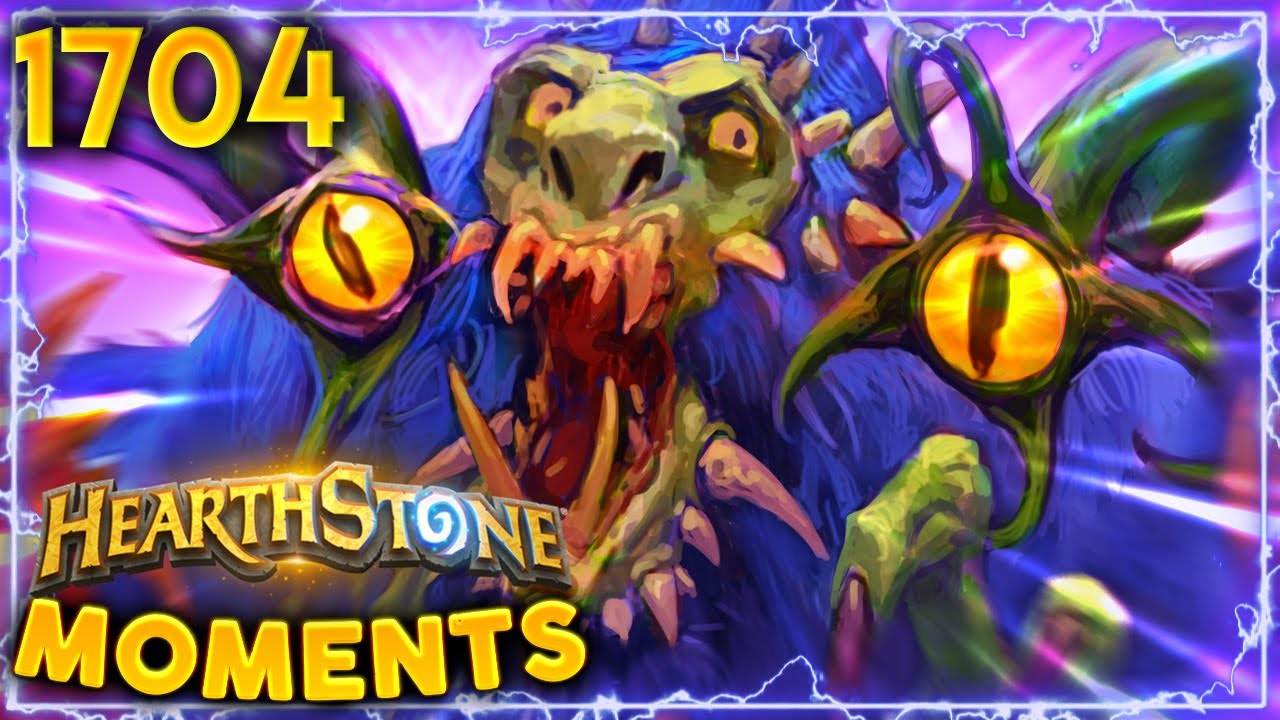 When HUNTERS GO Full Beast Mode, IT'S OVER   Hearthstone Daily Moments Ep.1704