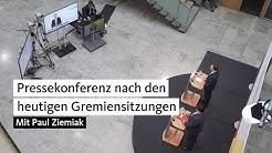 Pressekonferenz nach den heutigen Gremiensitzungen mit Paul Ziemiak