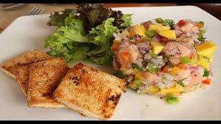 Ceviche De Salmón Con Mango