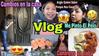 Vean Lo  Que Trajo José!😍 Me Pinto el Pelo De Nuevo 🤣/ Haciendo La Receta Que Querían/Vlog