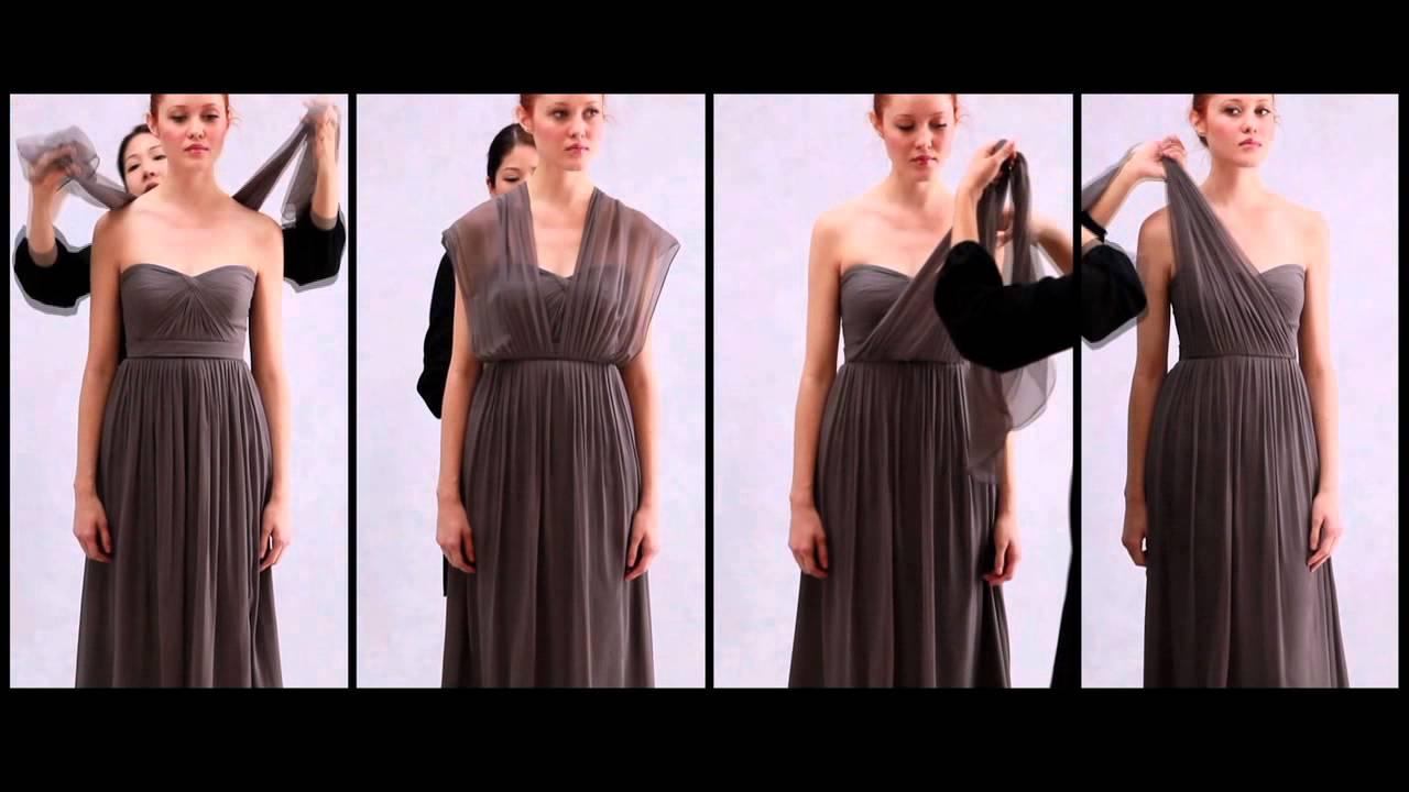 5a6016e24757 The Inspiration of Nabi Dress by Jenny Yoo - YouTube