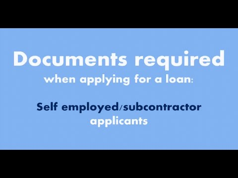 how to get a home loan if self employed