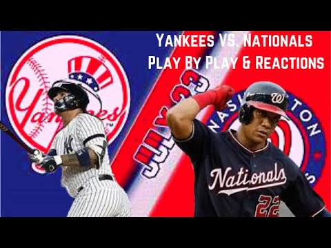 New York Yankees vs. Washington Nationals FREE LIVE STREAM ...