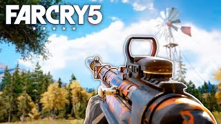 Far Cry 5 - MP40 HUNTING & CUSTOMIZATION (Far Cry 5 Free Roam) #14