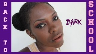 BACK TO SCHOOL MAKEUP FOR BLACK WOMEN| FLAIRELLE
