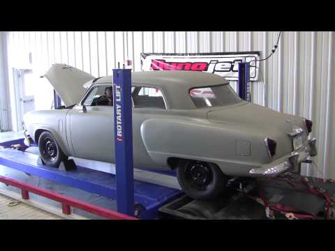 1951 Studebaker Commander on Dyno
