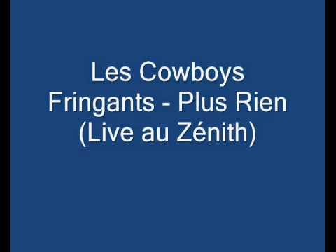 Les Cowboys Fringants   Plus Rien  live au Zénith