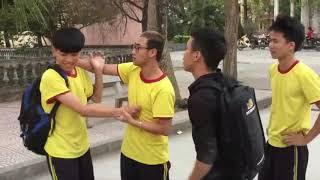 [Hài kịch] Nói không với bạo lực học đường- 12A11 K37 THPT Nguyễn Trãi - Hải Phòng