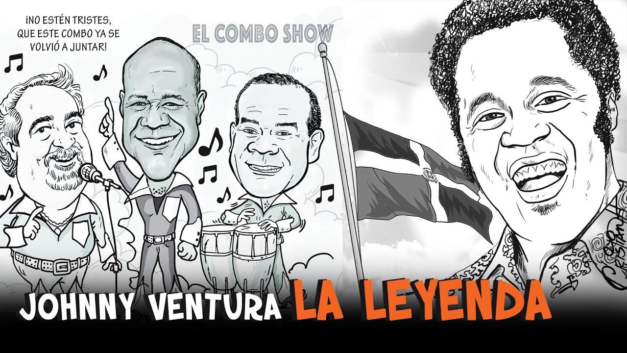 johnny Ventura, La Leyenda #cristiancaricaturas