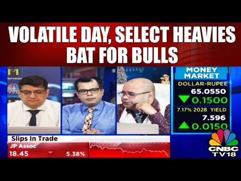 Closing Bell (22nd March): Volatile Day, Select Heavies Bat for Bulls | CNBC TV18