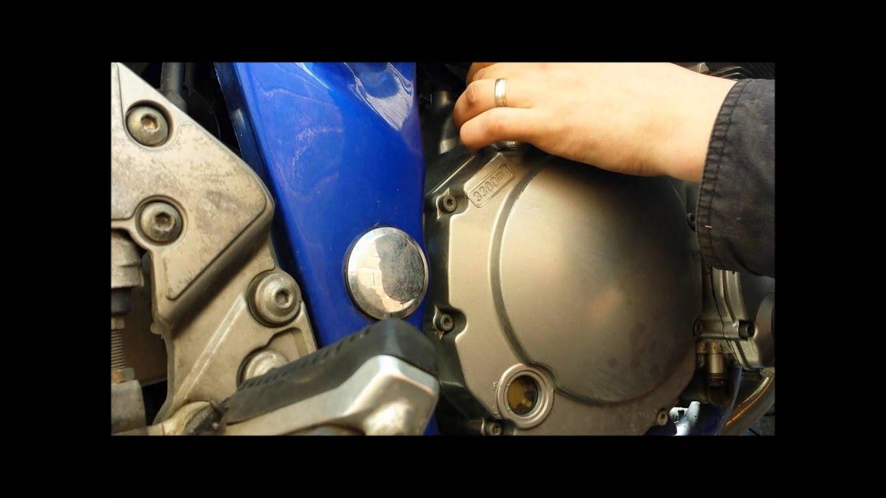 How To Change Oil Filter  Suzuki Bandit