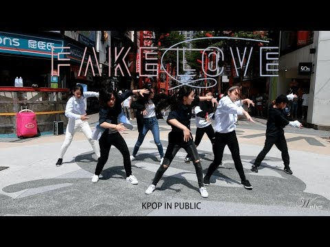 [KPOP IN PUBLIC CHALLENGE] BTS 방탄소년단 - Fake Love Dance Cover By WISHES