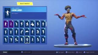 """FUNK OPS"" Skin Showcased with 80+ DANCES/EMOTES 