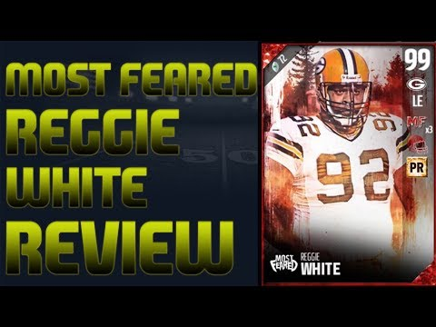 99 Most Feared Reggie White Review | Madden 17 Ultimate Team Player Review