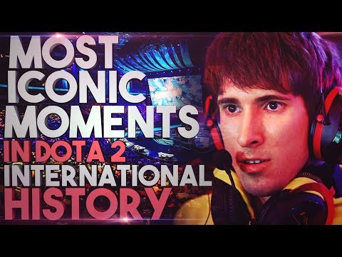 Most ICONIC Moments In Dota 2 International History