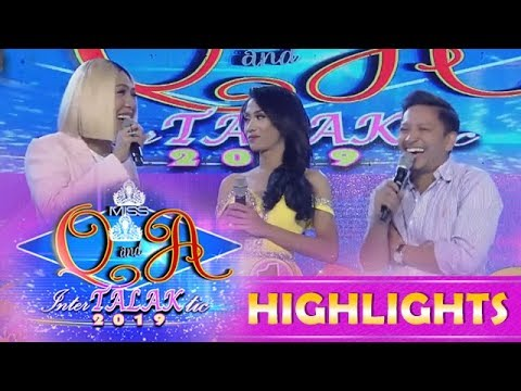 It's Showtime Miss Q and A: Vice Ganda worries for a basketball player