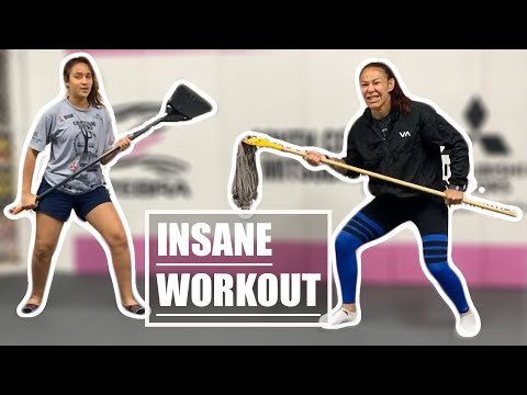 Live Stream Cris Cyborg insane workout