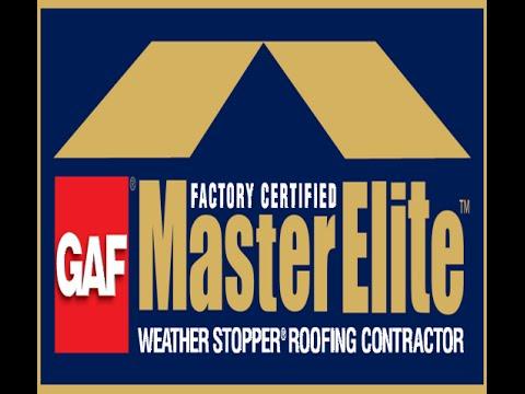 Gaf Master Elite Roofers Roofing Contractors In Dayton