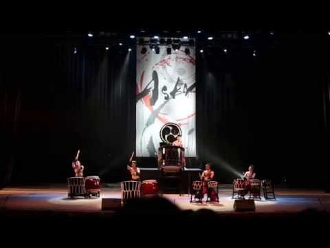 Japanese drum troupe ASKA in Ekb (1 of 3)