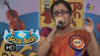 Palleturi Pillagada Song - Priya Performance in ETV Padutha Theeyaga - 27th June 2016