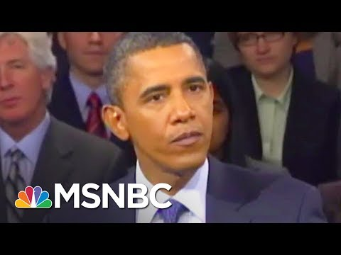 President Barack Obama Owns Anthony Scaramucci | All In | MSNBC