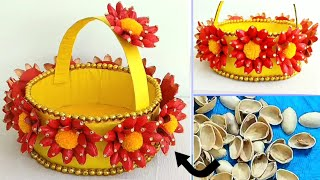 Best Out Of Waste Pista Shells | Amazing Craft Idea Out Of Pista Shells
