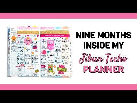 I'M BACK! Planner Update - Jibun Techo Flip Through