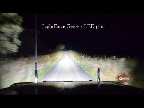 LightForce Genesis LED pair - Allan Whiting - March 2017